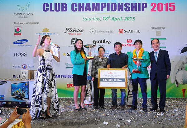 Result of Twin Doves Club Championship 2015